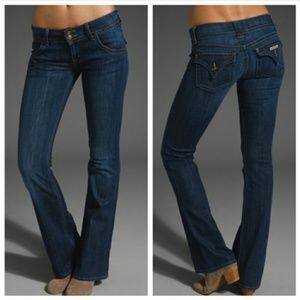 HUDSON dark wash Bootcut Jeans sz 25 Style W170DHK